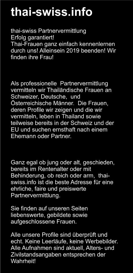 Frauen preise thailand Thaifrauen München